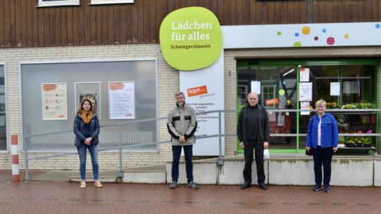 tegut-Lädchen in Schwiegershausen